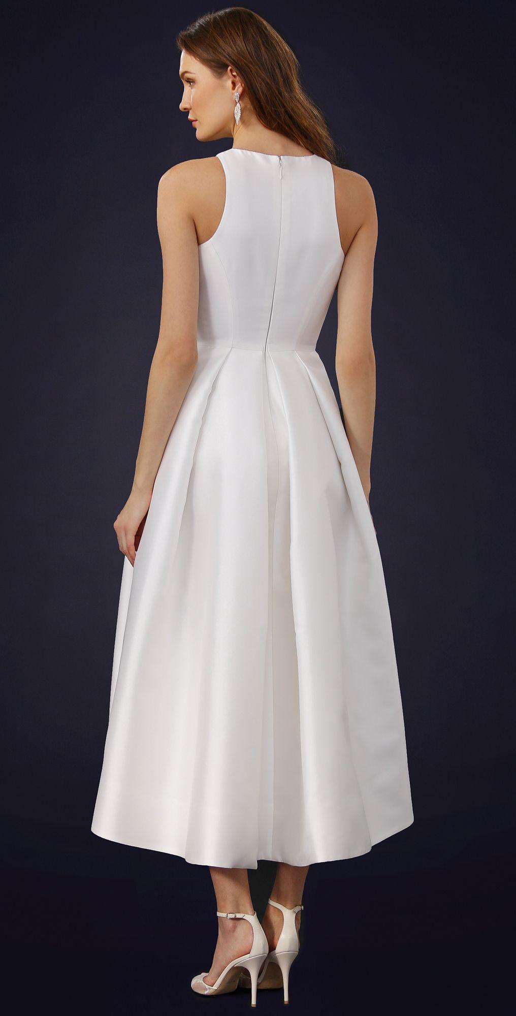 Zelda wedding dress  Zelda Tea Length Dress  Tea length dresses Tea length and Monique
