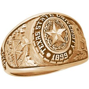 Ladies Texas State Ring Texas State Bobcats State Ring