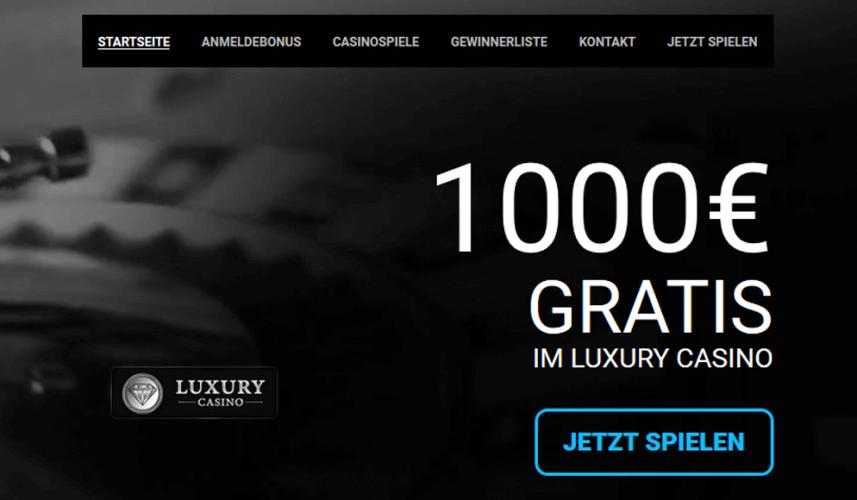 Erfahrungen Luxury Casino
