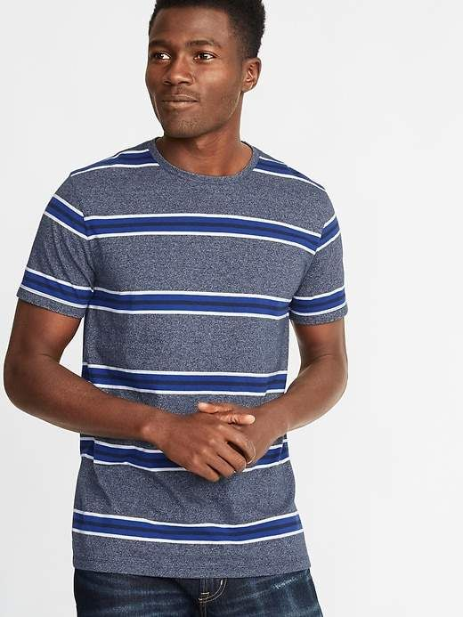 8850d6397a7 Old Navy Soft-Washed Striped Crew-Neck Tee for Men in 2019 ...