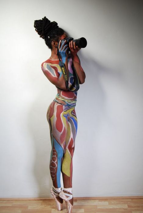 2013! Natural locs and painted body art