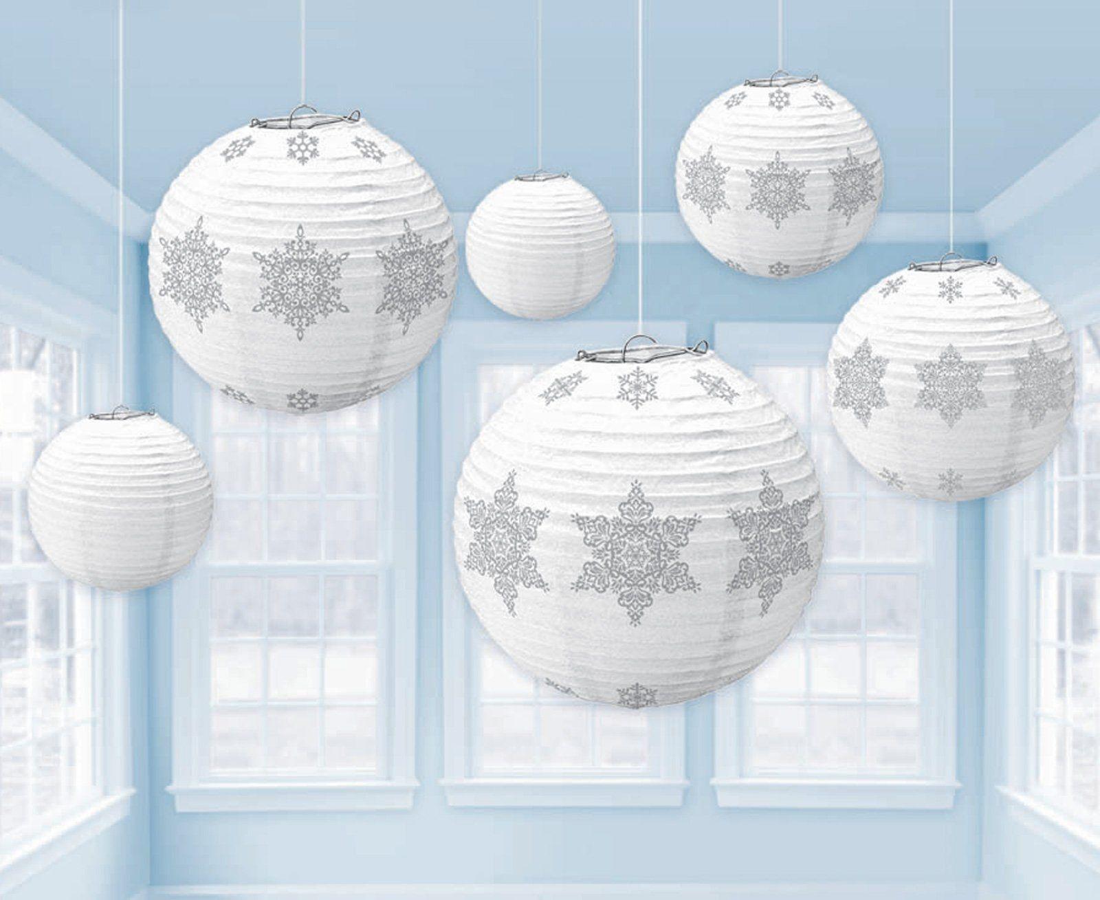 Better Than A Lot Of Balloons Lantern Party Decor Hanging Paper Lanterns White Paper Lanterns