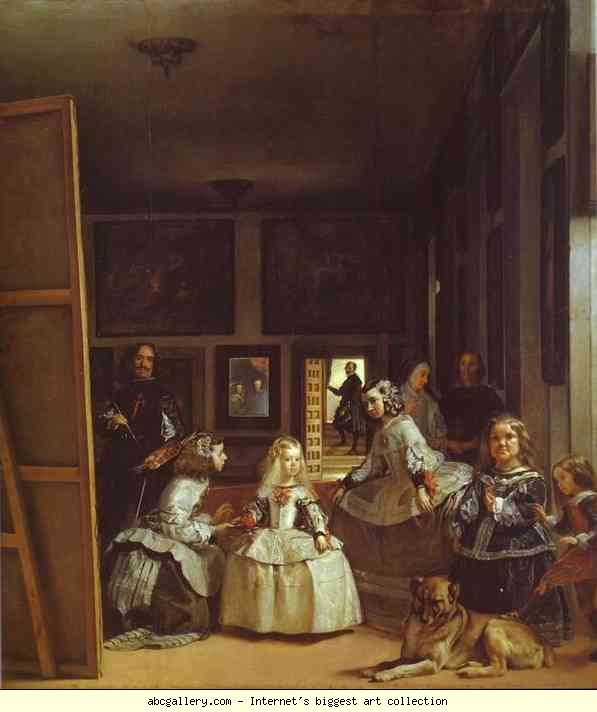 Las Meninas The Maids Of Honor Or Royal Family