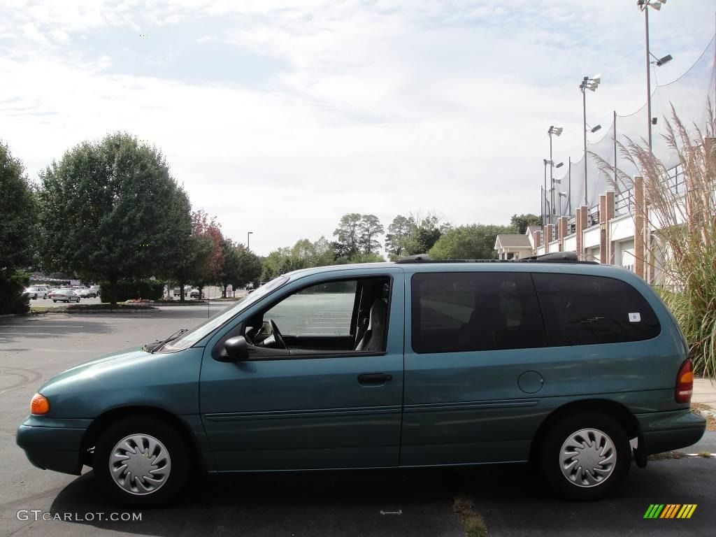 1998 Ford Windstar Gl In Caribbean Green Metallic With Steel Wheels And Hubcaps Ford Windstar Ford Aerostar Ford