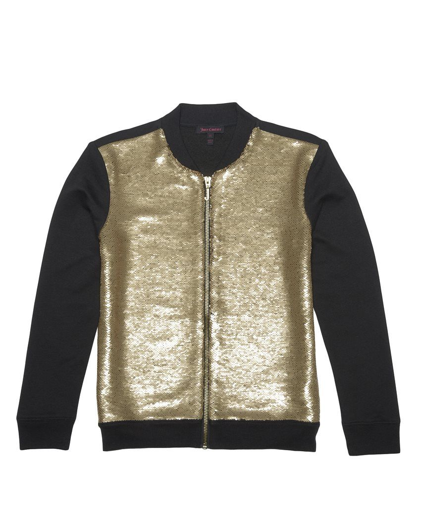 a8d590b15 Sequin Bomber Jacket | Juicy Couture | DETAILS 2016 | Bomber jacket ...