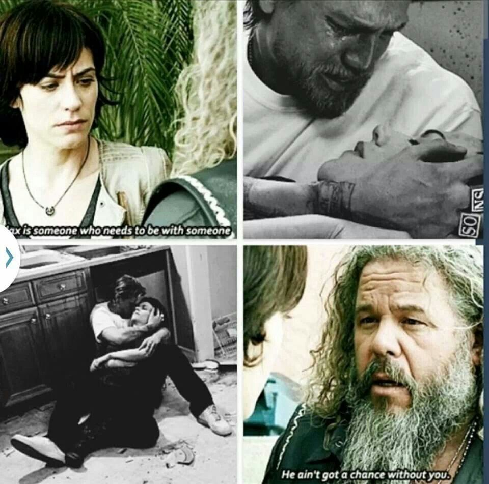 Wonder How Jax Will Survive Without Her In Season 7 Sons Of Anarchy Sons Of Anarchy Samcro Sons Of Anachary