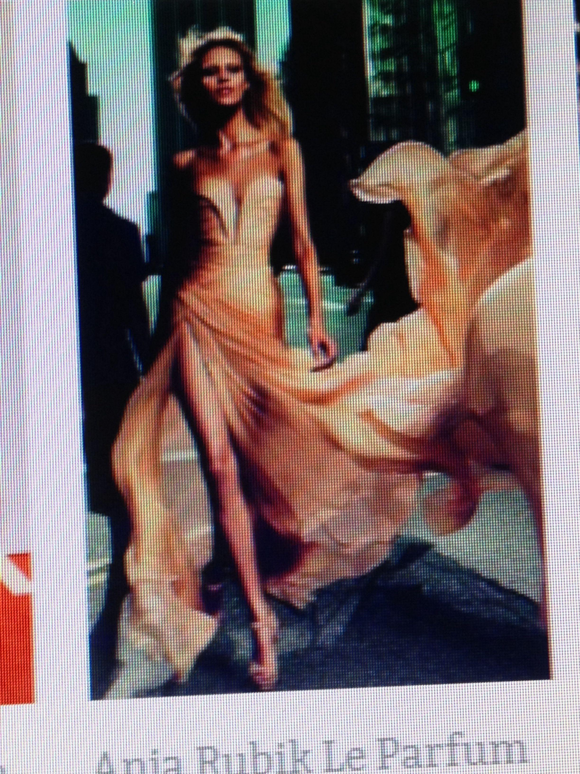Golden bronze gown