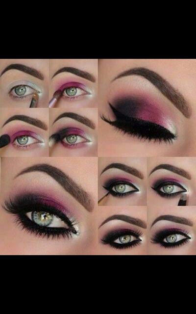 Step by step | Smoky eye makeup, Smokey eye makeup ...