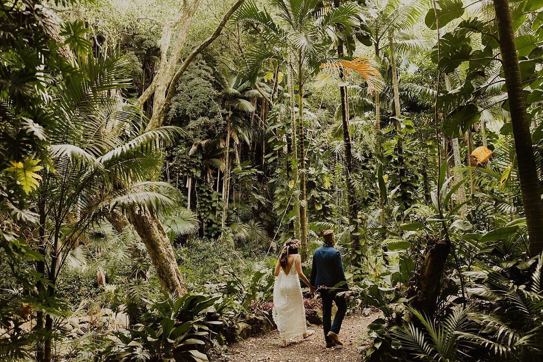 National Tropical Botanical Garden Wedding On Kauai Botanical