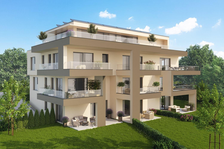 Stilvolle Eleganz Neubauimmobilie zu kaufen Wohnung