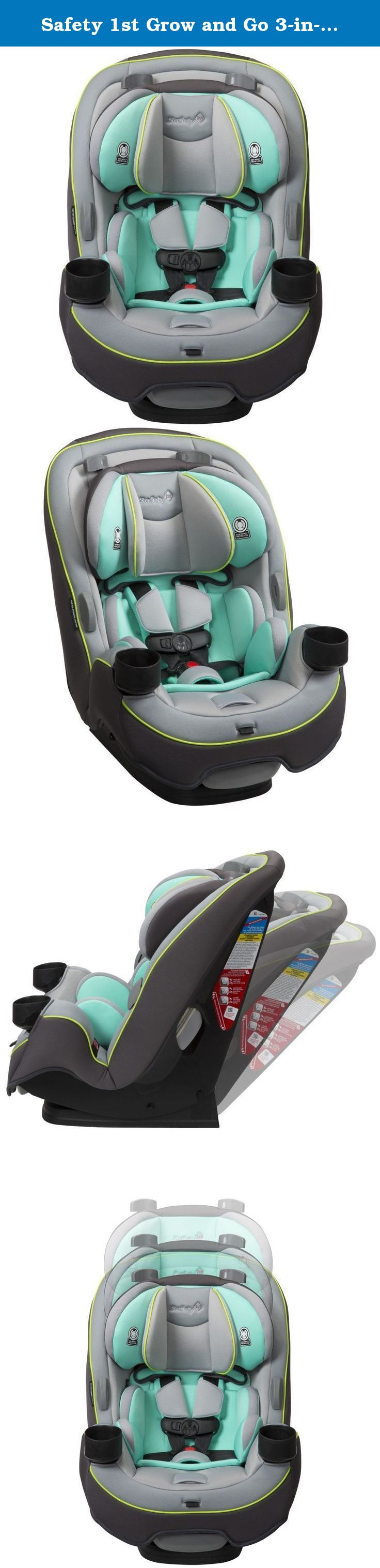 Safety 1st Grow and Go 3-in-1 Convertible Car Seat, Vitamint. Get ...
