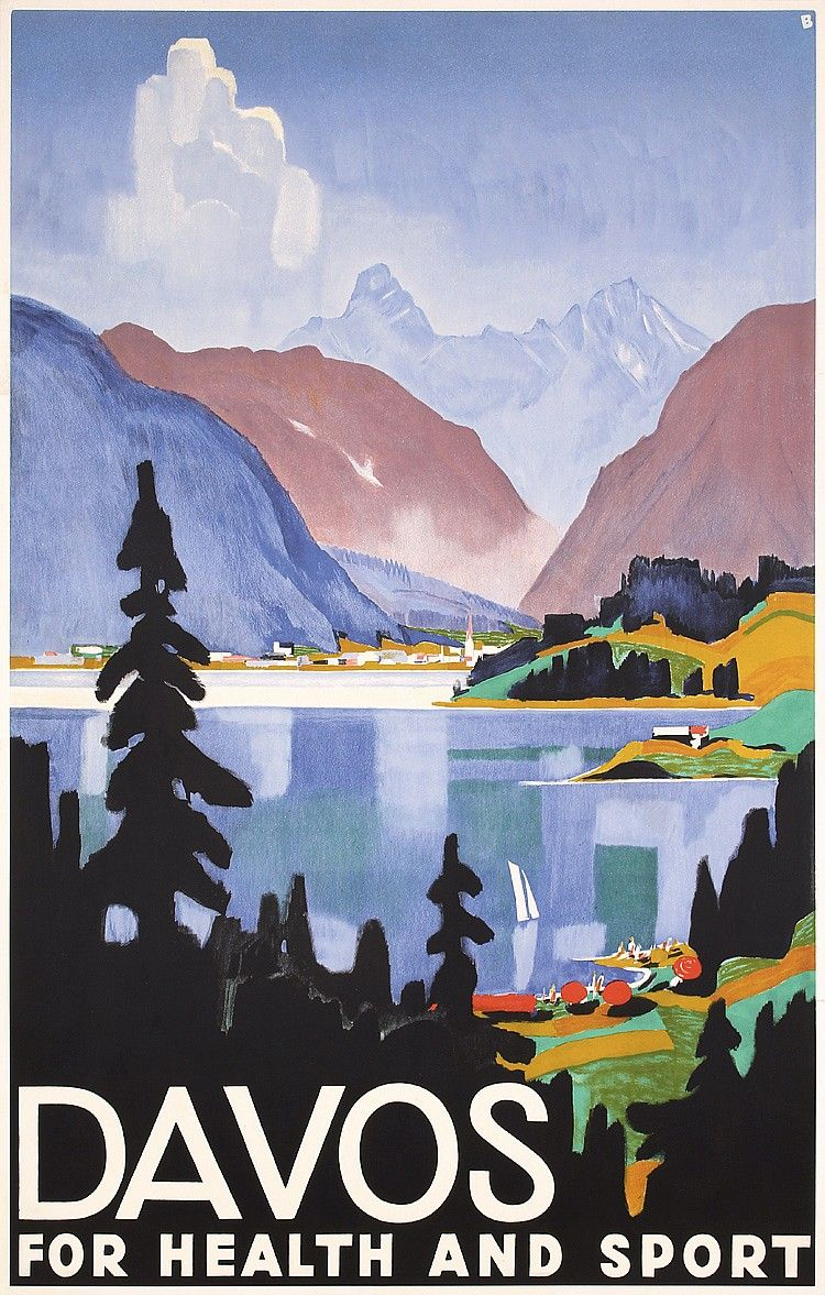 "TT46 Vintage Lake Annecy French France Travel Poster Print A3 17/""x12/"" Re-Print"