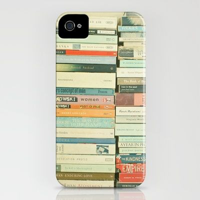 Bookworm iPhone Case by Cassia Beck