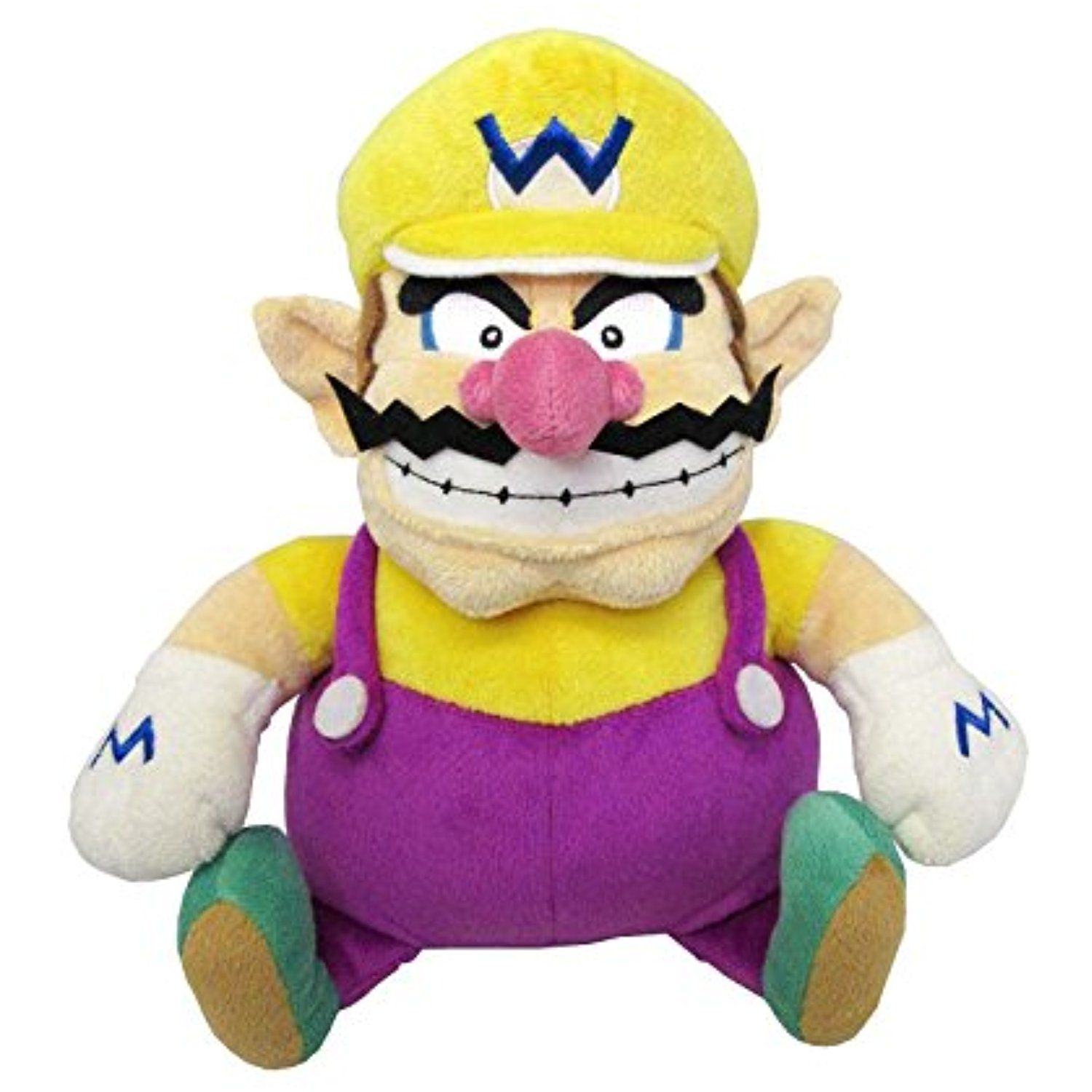 Sanei Super Mario All Star Collection 10 Wario Plush Small You Can Find More Details By Visiting The Im Mario Plush Super Mario Plush Super Mario All Stars