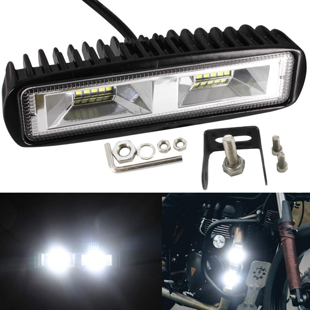 Led Light Bar Driving Work Light 20w Pods Fog Lights Single Row For Cars Trucks Motorcycle Motorbike Off Road Jeep Atv Suv Driving Work Suv 4x4 Led Light Bars