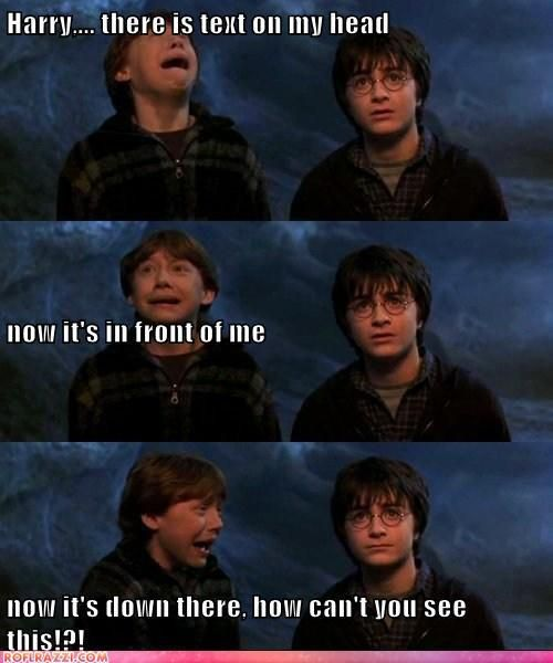 It could be worse Ron... At least it's not comic sans.