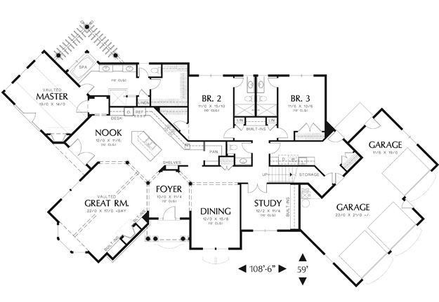 House Plans Home Plans And Floor Plans From Ultimate Plans Unique Floor Plans Dream House Plans House Floor Plans