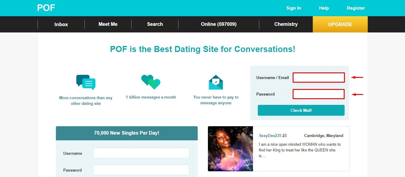 Plenty Of Fish - POF | Free Online Dating Sites