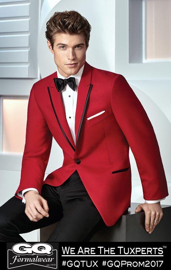 2017 Latest Coat Pant Designs Red Groom Men Wedding Suits Jacket Slim Fit 2  Piece Tuxedo