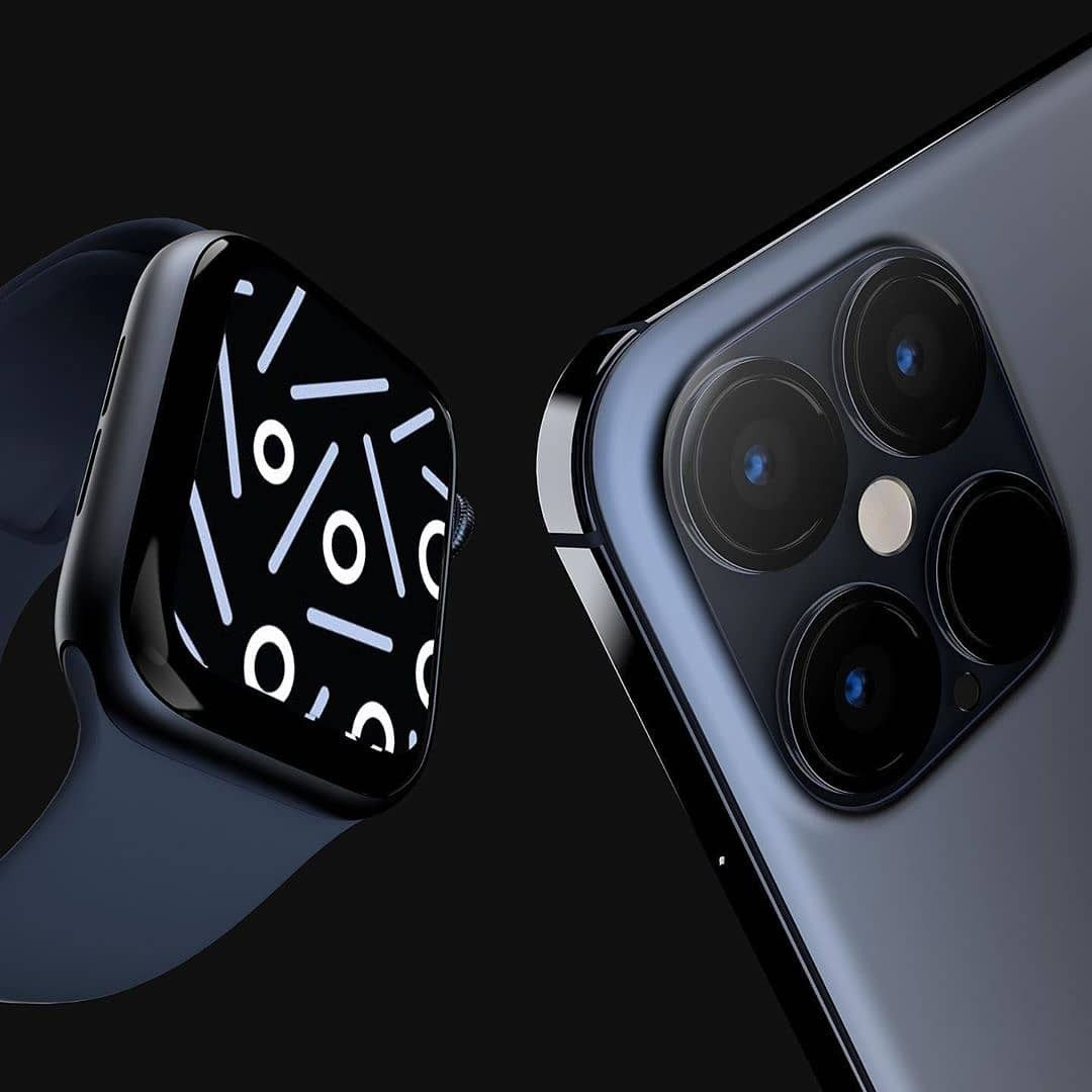 Apple watch series 6 with iphone 12 pro in 2020 apple