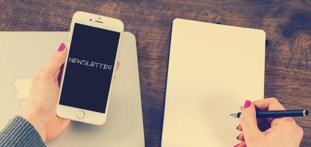 Ako vytvoriť dobrý newsletter? Viac na blogu High 5. #high5newsletterclanok