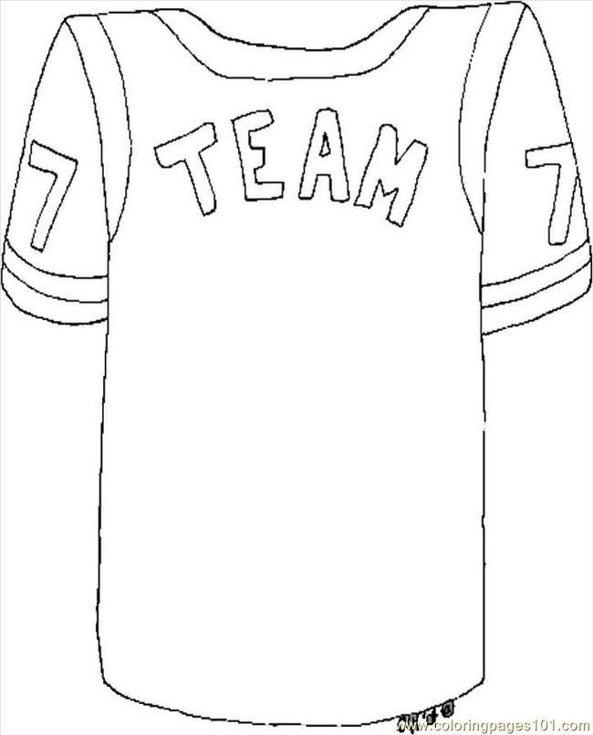 Chicago Bulls Coloring Pages Football Jersey Coloring