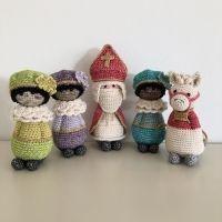 Haakpatroon koukleumpjes Sint en Piet #sintenpiet Haakpatroon koukleumpjes Sint en Piet #sintenpiet