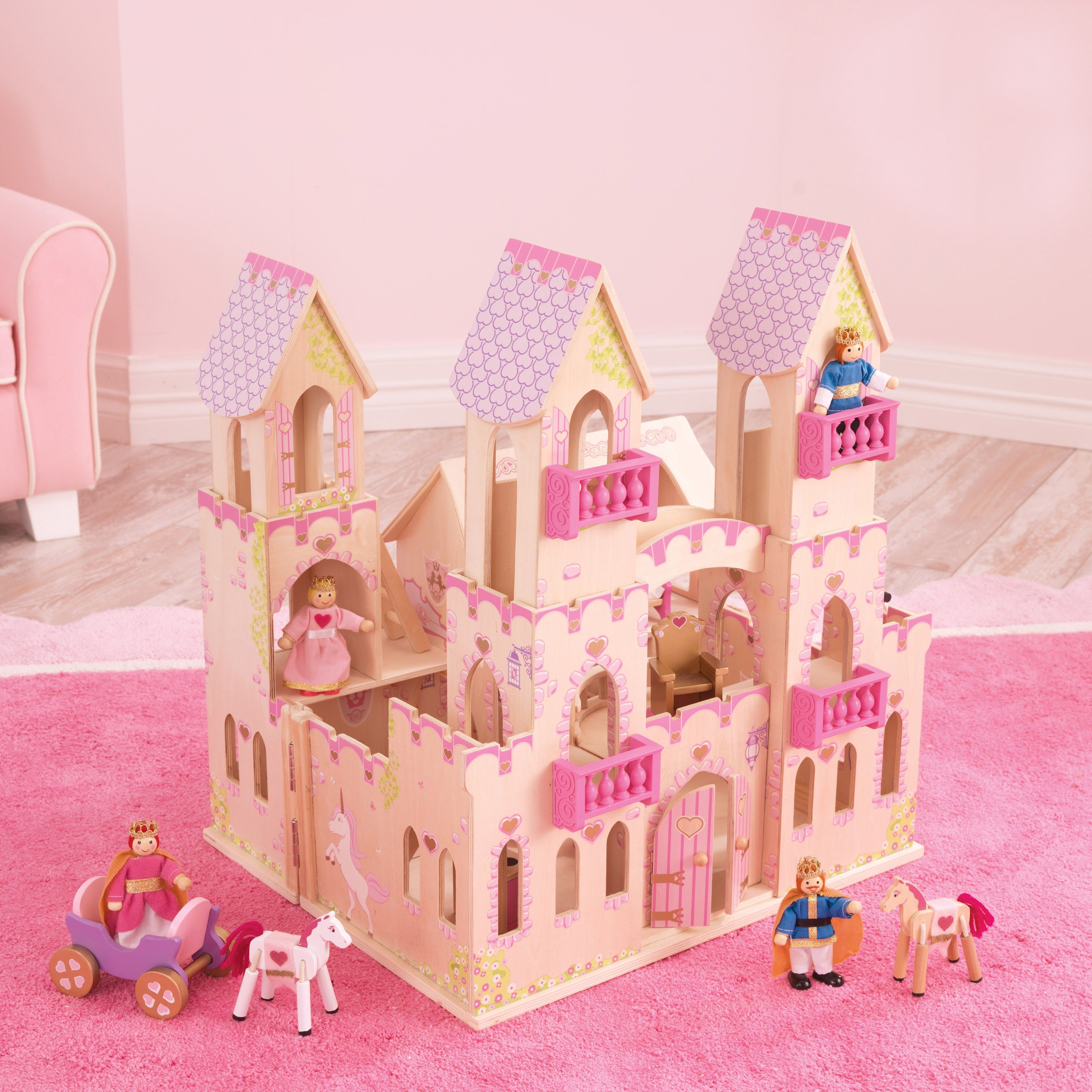 Pin by MiniCrafts on Mini ChunkyWooden Princess castle