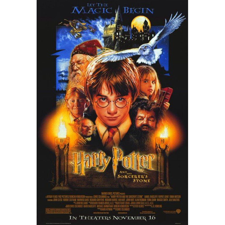 Harry Potter and the Sorcerer's Stone (2001) 11x17 Movie Poster