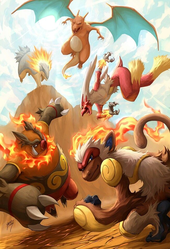 And how could i forget the fire starters #pokemon