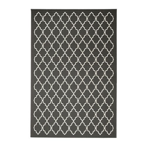 hovslund tapis poils ras gris fonc tapis poil ras ikea et tapis. Black Bedroom Furniture Sets. Home Design Ideas