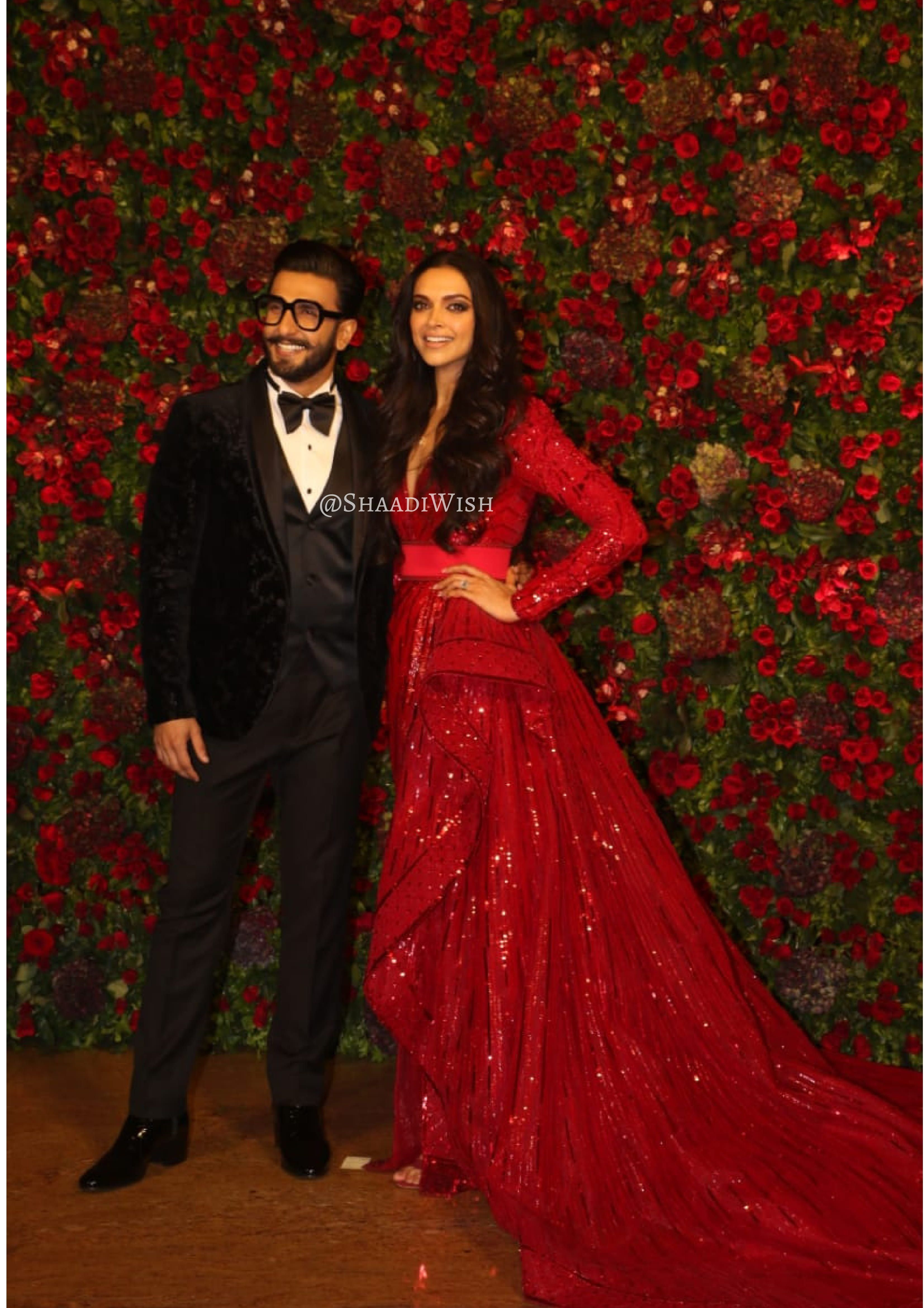 Finally Its The Bollywood Night For Deepveer And It Was All Star Studded Bollywood Ranveer Singh Deepika Padukone