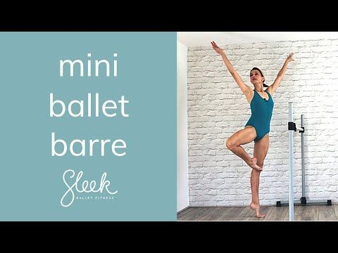 Classic Mini Ballet Barre Workout #balletfitness