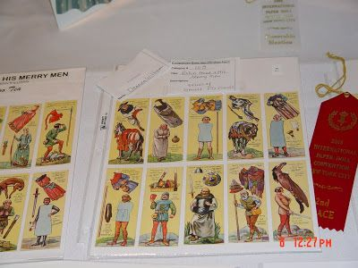 The 2008 Paper Doll Convention Archive: Robin Hood Typhoo Tea Cards