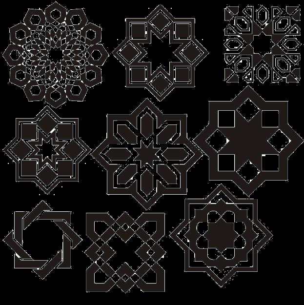 نتيجة بحث الصور عن اشكال هندسية Islamic Art Pattern Pattern Art Islamic Art