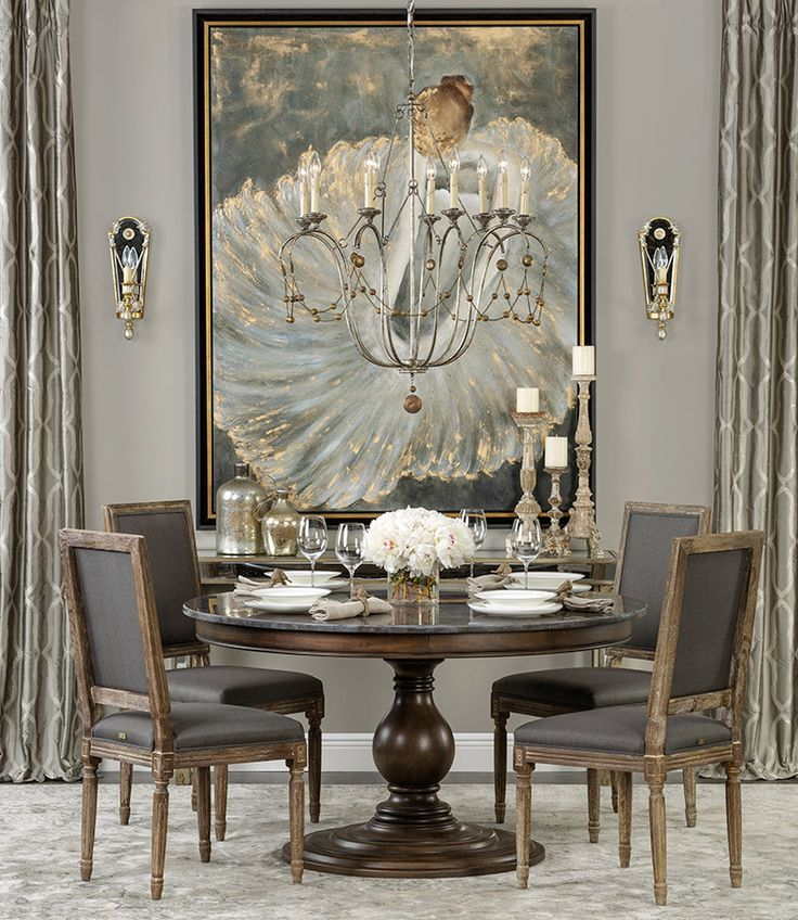 32 Elegant Ideas For Dining Rooms: Pin By Confetti Monkey On Living LARGE (With Images