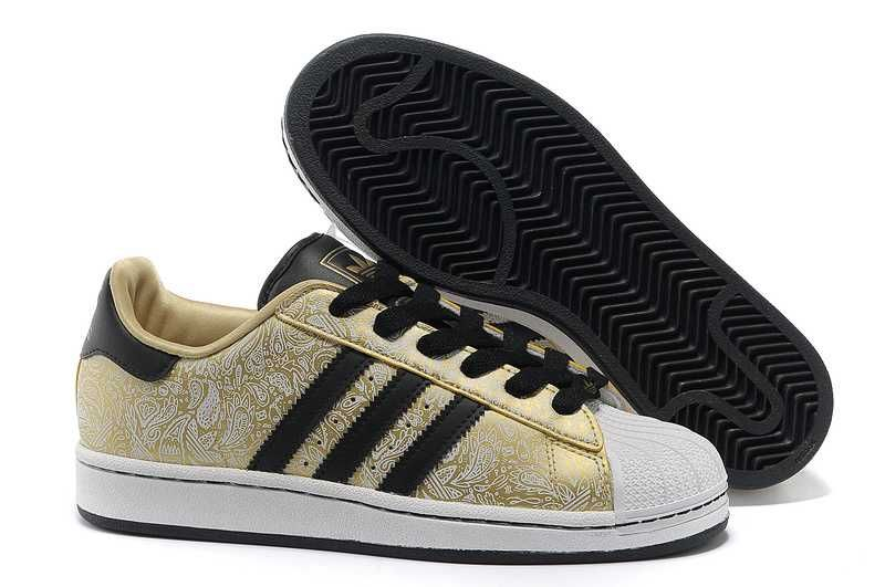 wholesale dealer 636b3 6b222 1767   Adidas Superstar Billigt Dam Herr Metallic Svart Gul Vit Metallic  SE772190UckEE