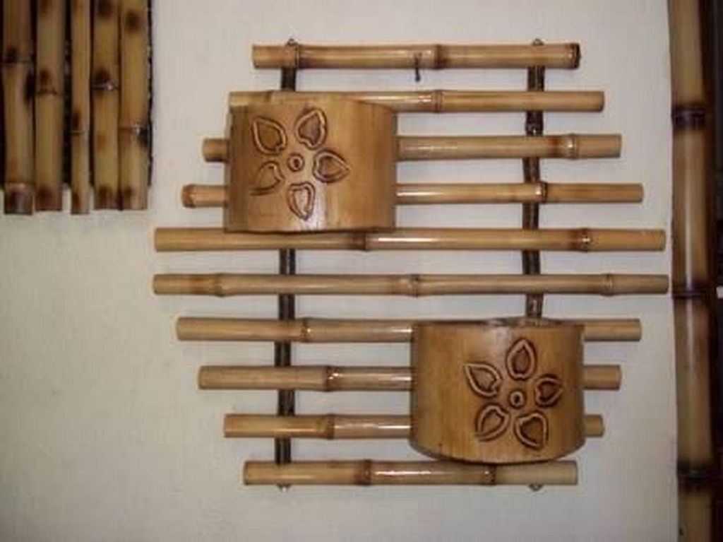 20 Stunning Diy Bamboo Wall Art And Decor Ideas Bamboo Decor