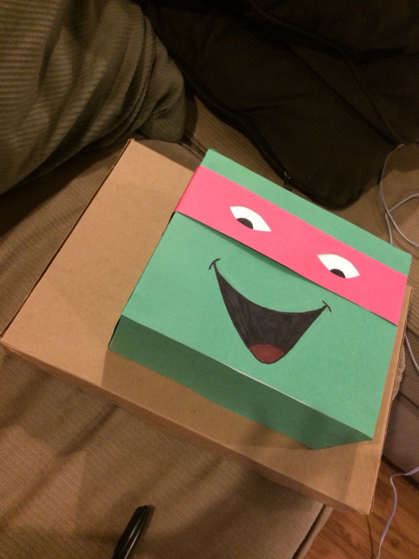 diy ninja turtle gift wrapping for boys | ideas | pinterest | gifts