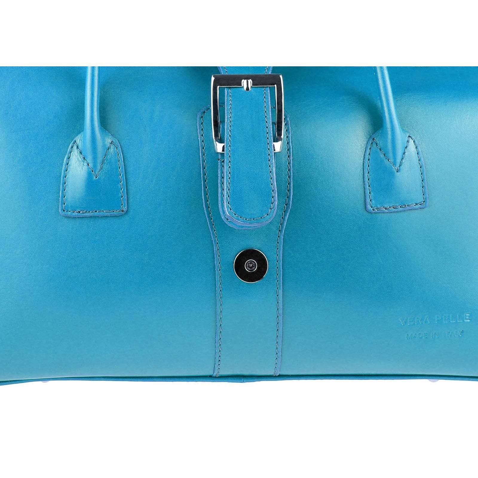 Pelle Made Italy Tasche Leder City In Damen Vera Bag XuTkZPOi