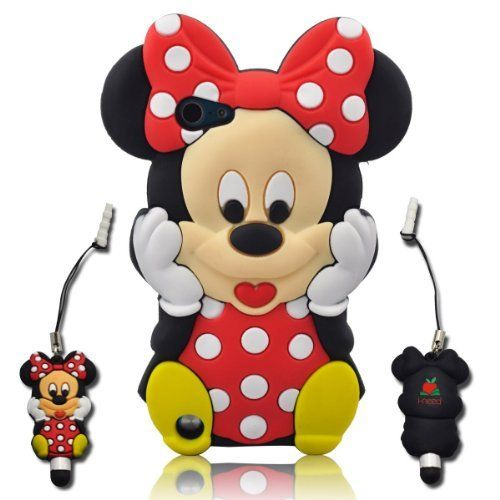 3d Cartoon Minnie Soft Silicone Skin Case Cover for Ipod Touch 5/5g/5th Generation + 3d Minnie Stylus PEN with Anti Dust Plug by Toug, http://www.amazon.com/dp/B00C9R98M8/ref=cm_sw_r_pi_dp_edBfsb1MDB55Q