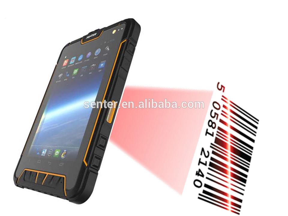android touch sreen pos system terminal with rfid credit