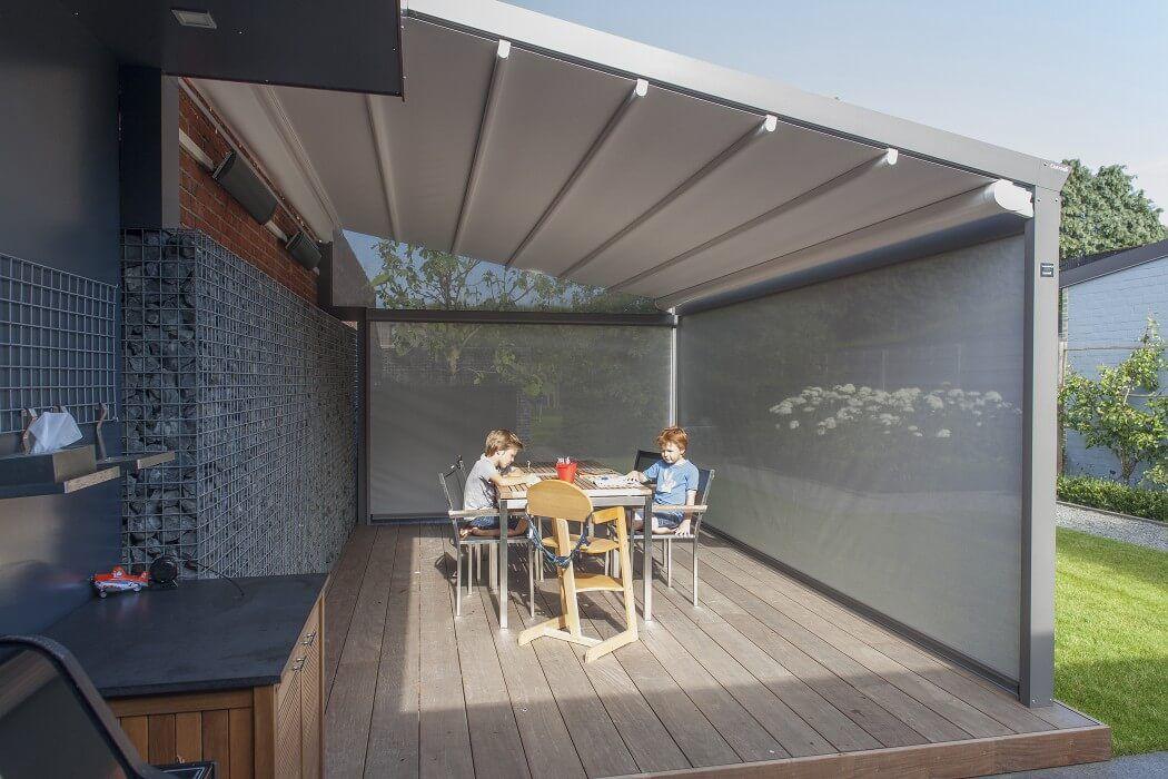 COBERTI Techo móvil Impact y cerramiento Hermética en porche. #techo ...