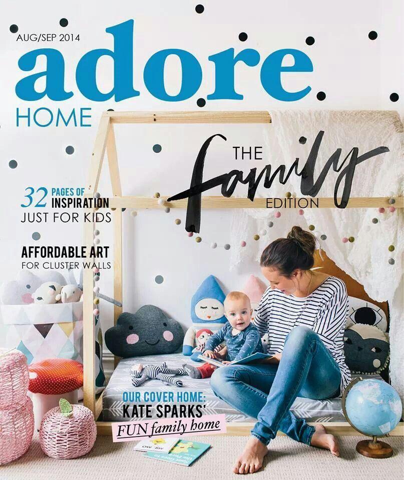 Adore magazine kids room