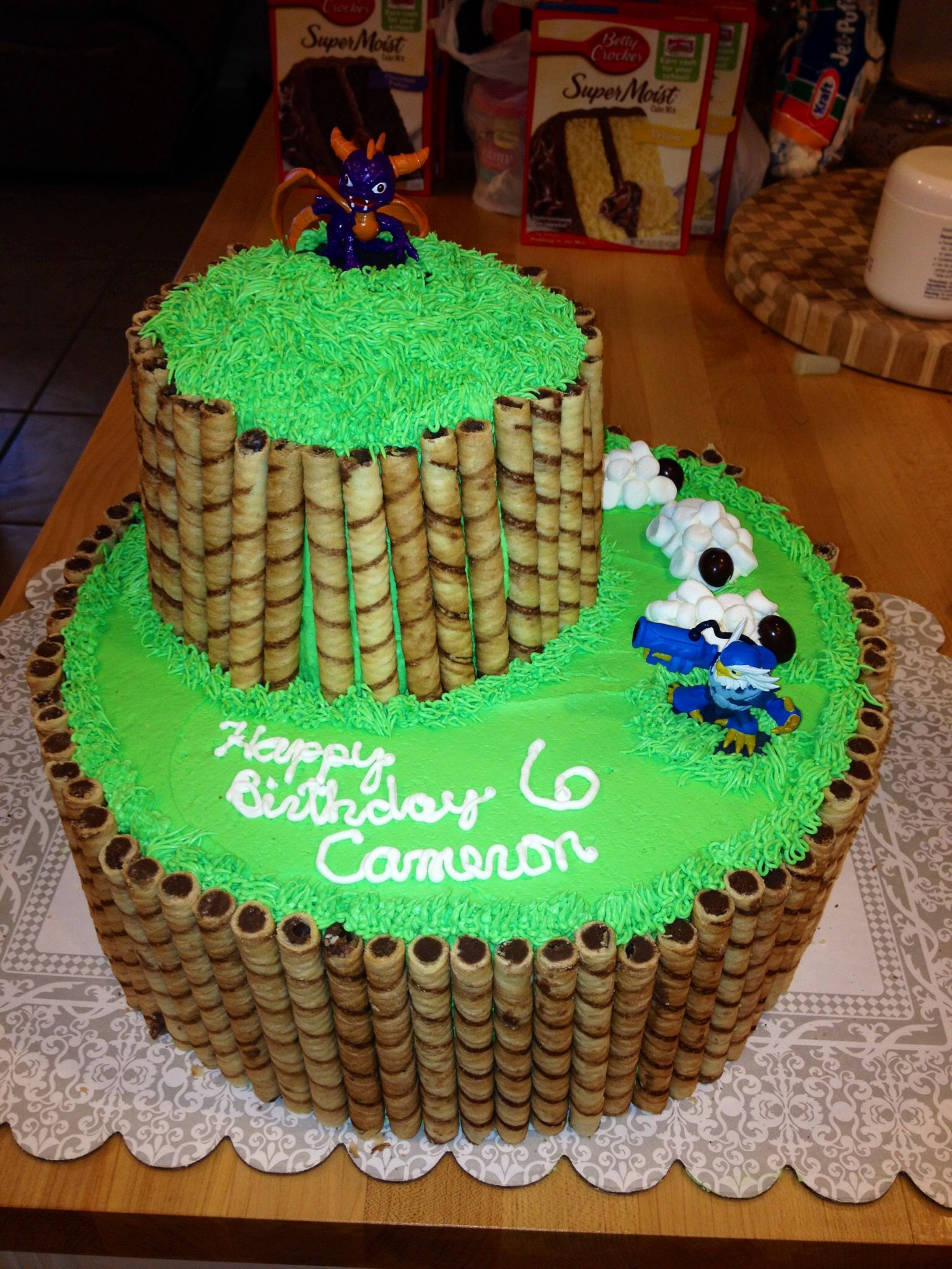 Cameron's birthday