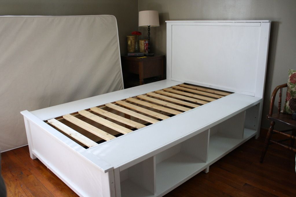 Full Size Hailey Storage Bed Do It Yourself Home Projects From