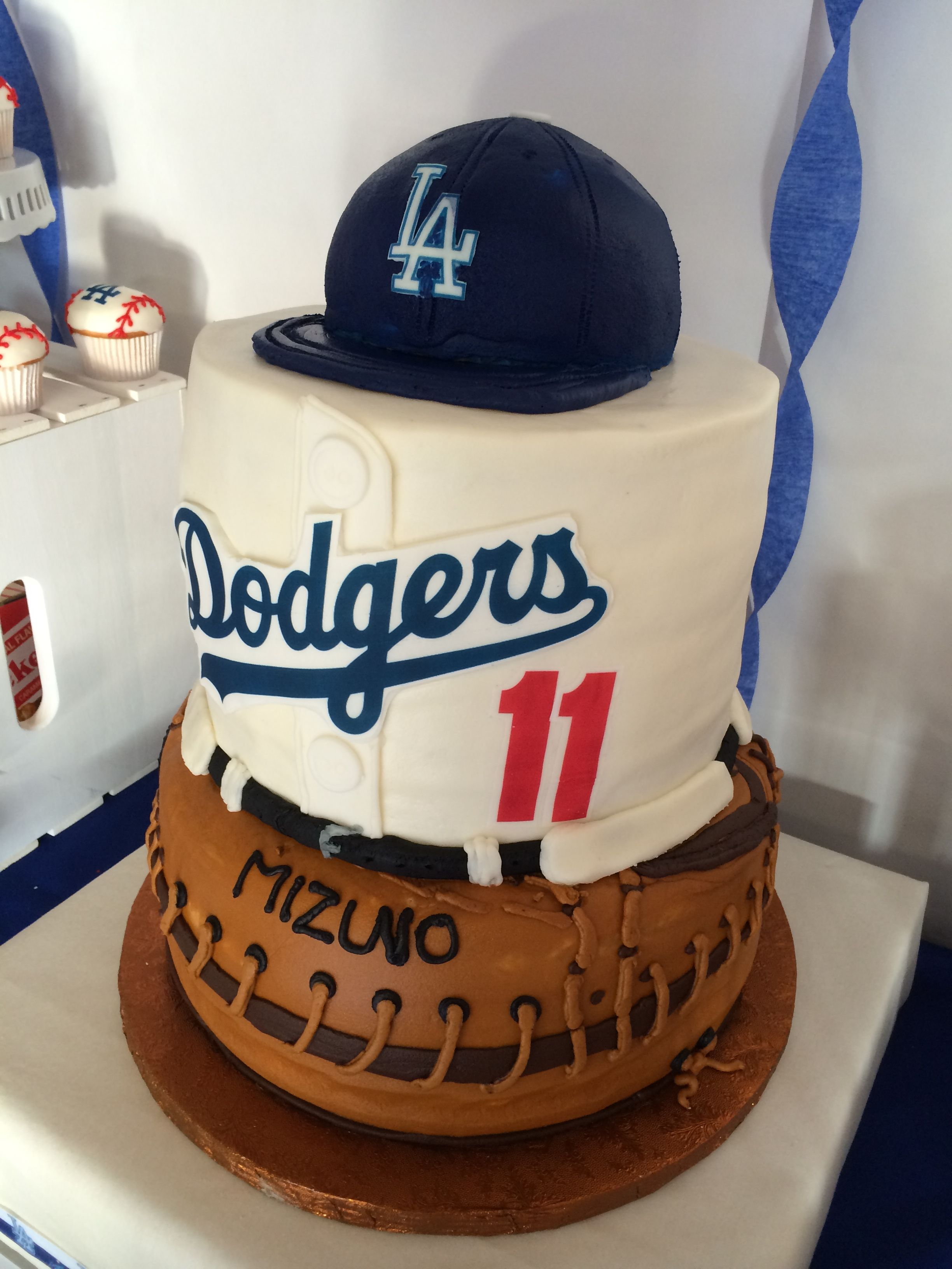 Dodger Cake Made Of Butter Cream All Edible