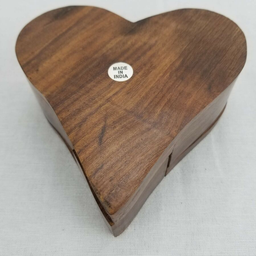 Valentine S Day Gift Heart Shaped Wood Puzzle Jewelry Box Ad Ad Gift Heart Day Wood Jewelry Box Puzzle Jewelry Wood Puzzles