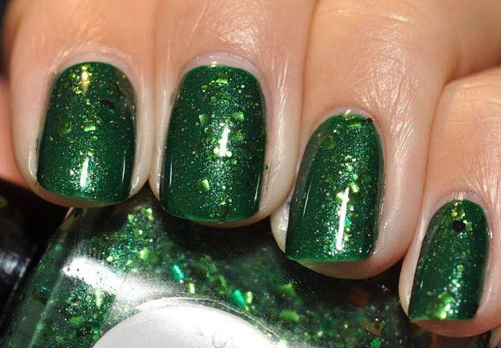 15 Diseños de Uñas Color Verde #decoracion_unas #diseno_unas ...