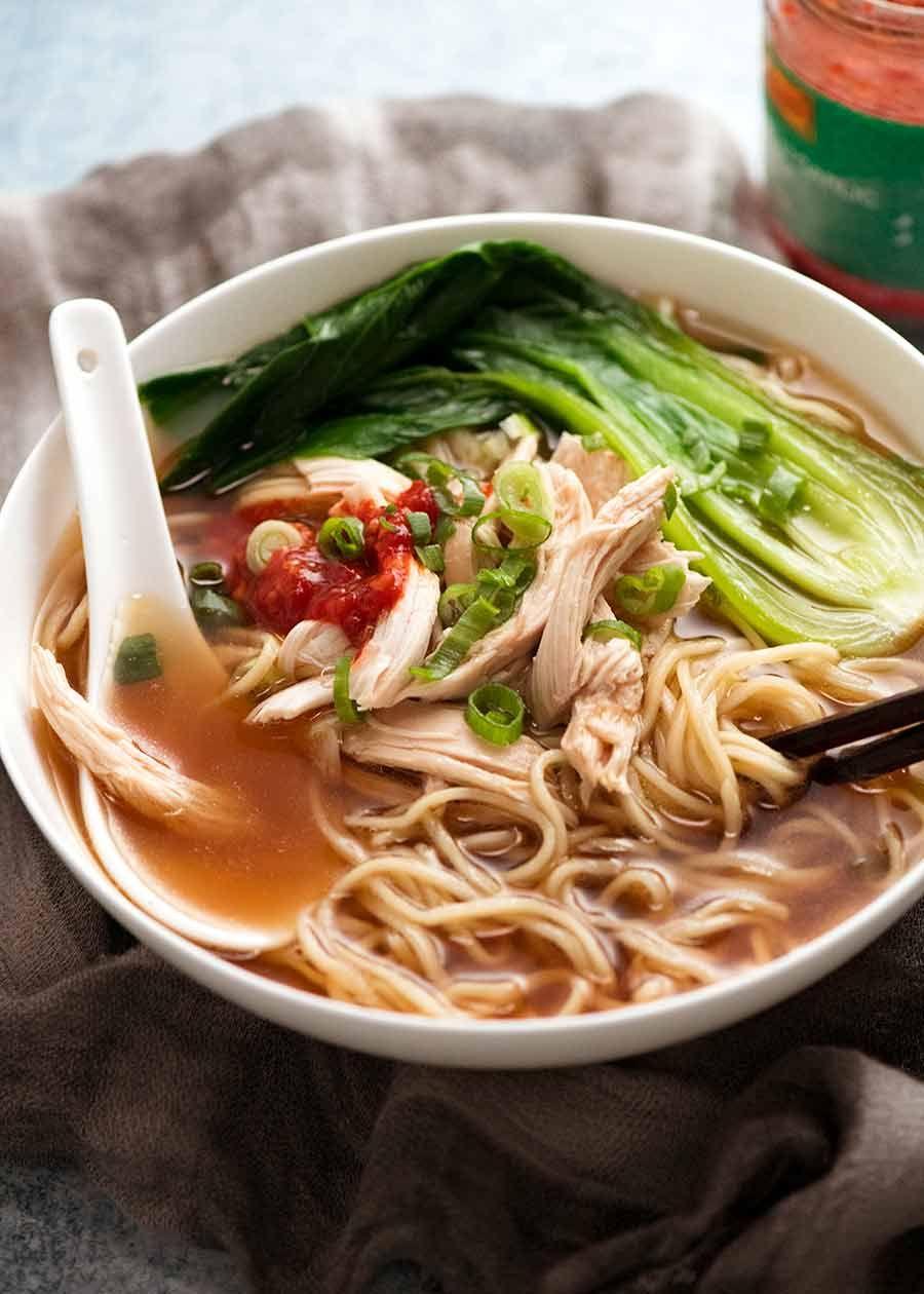 Chinese Noodle Soup Recipe Chinese Noodles Recipetin Eats Noodle Soup